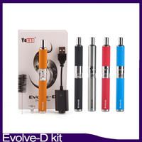 Evolve-D Starter Kit secca erba penna vaporizzatore con Pancake doppio bobine 650mAh batteria ego filo atomizzatore 0.268.093