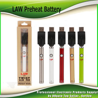 Law Preheat Battery Blister Kit with Bottom Twist 380mAh Pre...