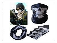 Outdoor Sports Party Skull Masks Neoprene Skull Bandana Face...