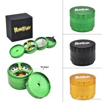 HoneyPuff Tobacco 4 Layer Grinder with Cutting Blades 68mm P...
