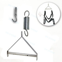 Couple Sex Love Metal Triangle Frame For Spring Swing Sling Spinning Chair #E07