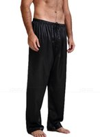 Mens 100% Silk (19Momme) Pajamas Pyjamas Pants Lounge Pants ...