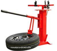 Einfacher manueller Reifenwechsler tragbarer Vakuumreifen Disassembler Motorradreifen Reparaturwerkzeuge