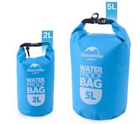 NatureHike 2L 5L Hochwertige Outdoor Wasserdichte Taschen Ultralight Camping Wandern Trockene Veranstalter Treiben Kajak Schwimmen Taschen