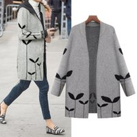 New Fashion Women Sweater Casual Cardigans Autumn Knitted Co...