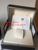 الفاخرة عالية الجودة ووتش مربع 185 * 150 * 110 أوراق حقائب اليد حقيبة تستخدم الطيار البرتغالي التلقائي كرونوغراف IW ووتش