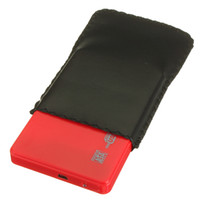"Freeshipping 2.5 ""SATA HDD 하드 디스크 HD USB 2.0 슬림 케이스 박스 외장형 드라이브 어댑터 + 케이블"