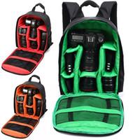حقائب كاميرا حقائب عالية الجودة حقيبة كاميرا حقيبة ماء dslr حالة لكونون 3 ألوان