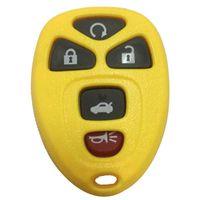 GMBuick 용 4 색 5 버튼 원격 FOB 키 케이스 셸 커버 패드