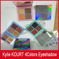 NEW 4color KOURT X KYLIE to drop 3 set launching eyeshadow p...