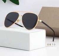 Ücretsiz Gemi Marka Güneş gözlükleri mens Için Moda Kanıt Güneş Gözlüğü Tasarımcı Gözlük mens Bayan Güneş gözlükleri yeni gözlük 7 renk 0810