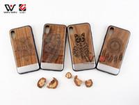 حار بيع المعادن الخشب حالة الهاتف الخليوي ل فون x 8 زائد 7 زائد 6 ثانية مخصصة تصميم المحمول الغطاء الخلفي الكامل tpu المطاط حماية بالجملة