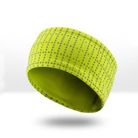 Fitness yoga sweat absorbent hair band night running, cyclin...