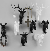 wholesale Creative deer head mannequins animal decorative co...