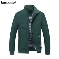 Casual Business Men' s Stand- up Collar Jacket Spring Aut...