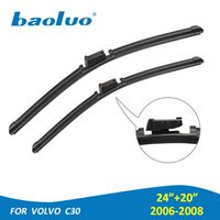 BAOLUO 2PCS Windshield Wiper Blades For Volvo C30 2006 2007 ...