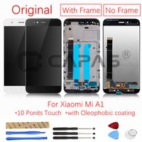 Originale per Xiaomi Mi A1 Display LCD con schermo Frame Touch Panel Per Xiaomi MiA1 Display LCD Digitizer Repair Ricambi