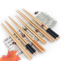 Black Brown wooden chopsticks Wholesale Chinese Style Nature...