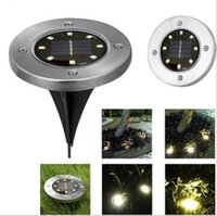 new Buried Light Solar Powered Ground Light Waterproof Garde...