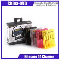Original Nitecore Q4 Quick Charger 4 Slots 4 Colors for IMR ...