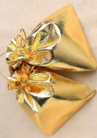 FANCY GOLD PLATED STAIN Fashion Organza Jewelry Gift Pouch B...