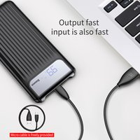Baseus 10000mAh LCD Quick Charge 3. 0 Dual USB Power Bank Pow...