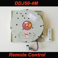 DDJ50 50 KG 4 M Kablo Oto Uzaktan kumandalı Vinç Avize Kaldırma aydınlatma kaldırıcı Elektrikli Vinç Işık Kaldırma Sistemi lamba Motor