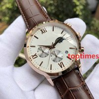 Hot Brand Luxury Sports Watch Cheap Chronograph Rose gold Qu...