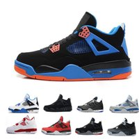 High Quality 4s Mens Basketball Shoes 4s White Cement Black ...