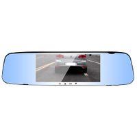 X10 HD 1080P Cámaras duales Ture DVR para vehículo Vehículo Pantalla táctil Vía de seguridad DVR para automóvil Cámara grabadora de video Tacógrafo
