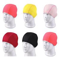 1 unids Niños Sólido Gorro de Natación de Silicona Sombreros de Natación Impermeable Adultos Niños Caps Hombres Color Puro Gorro de Natación