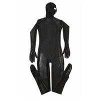 Erotic Leotard Gay Men Sexy Fetish Latex Nightclub Catsuit P...