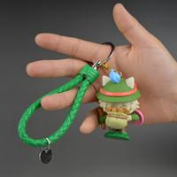 Livraison gratuite League of legends LOL jouets Keychain Pendentif Figure poupée Timo Ornaments Collection de poupée