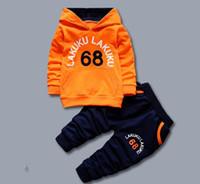 Enfants Spring Automne Vêtements Sweat à capuche T-shirt Baby T-shirt Enfin Casual Enfants Vêtements Vêtements Hiver Vêtements Enfants Nouveau-né Vêtements