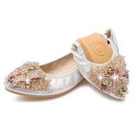 Sapatos de rolo de Ovelha confortável macio mulher sapatos de Strass Luxuoso moda sapatos casuais 2018 novo boca rasa não escorregar mulheres falts plus size