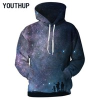 YOUTHUP New Design 2018 Spring Hooded Hoodies Men Women Long...