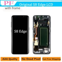 For Samsung Galaxy S8 Edge Original LCD with Frame Touch Scr...