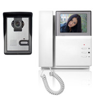 """4,3 """"Telefon Monitor Video Türsprechanlage Türsprechanlage Video Intercom IR Nachtsicht Türkamera Türklingel Video Türsprechanlage"""