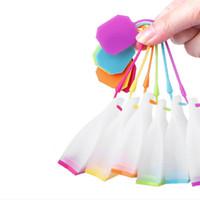 ティーバッグバッグ形シリコーン茶注入装置フィルターティーポットルーズティーストレーナーフィルターハーブルースティースパイスディフューザーキッチンツール