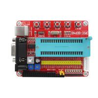 Freeshipping Mini Sistema PIC Development Board + Microchip PIC16F877 PIC16F877A
