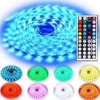 500m RGB conduit bandes SMD 50502835 5730 5M 300 LED étanche IP65 Led bandes souples lumière en courant continu de 12 V avec du ruban adhésif 3M