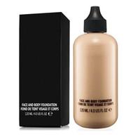 Hot Makeup высокое качество 120 мл фундамент жидкого лица и основание тела 6 цветов Fund de Teint DHL доставка + подарок