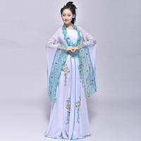 Wholesale Adult Fairy Princess Costumes Online   Ancient Costume HanFu  Princess Fairy Fresh And Elegant Ruskirt
