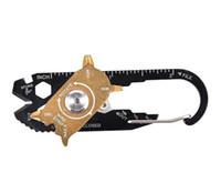 1 다기능 렌치 드라이버 오프너 EDC 생존 키 체인 도구에 FIXR 야외 스포츠 휴대용 유틸리티 포켓 20 도매