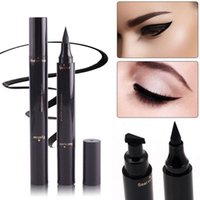 Winged Wing Eyeliner Stamp Black Thin Thick Eye Liquid Water...