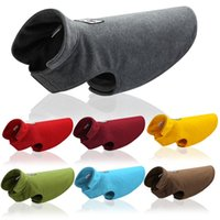 New Pet Dog Fleece Clothing Vest Dog Jacket Safety Clothes L...
