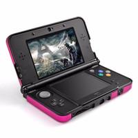 New 6 Styles Fashion Muti-Colors Funda protectora de aluminio para la carcasa de la piel dura para Nintendo 3DS LL XL
