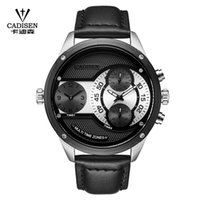 2018 New Luxury Brand CADISEN Men Watch Quartz Watches Big D...