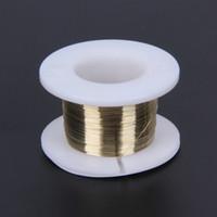 100M cable de corte LCD 0.10mm línea de corte de molibdeno de oro línea de divisor de corte de vidrio LCD para separador de pantalla de teléfonos celulares