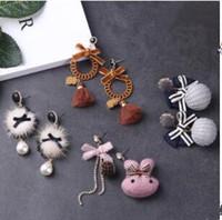 10 가지 스타일 새로운 한국어 귀걸이 긴 펜던트의 성격 귀걸이 스터드 귀걸이 여성 패션 한국어 보석 액세서리 도매